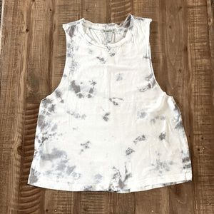 Forever 21 tie dye athletic tank top size Small